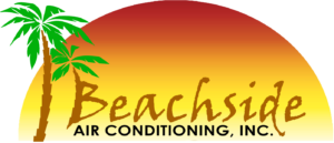 beachside air conditioning logo